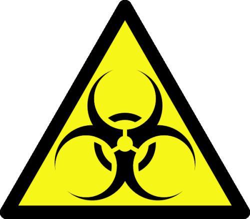"""这个标识表示""""生物危害""""还是""""生物风险""""?"""